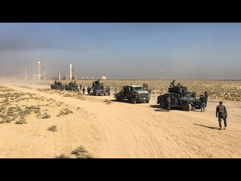 US-trained Kurds & US-trained Iraqis clash in Kirkuk