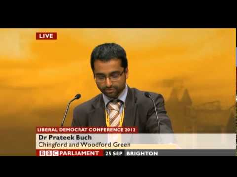 Holding banks to account - Lib Dem conference speech