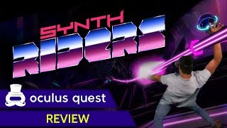 Synth Riders Review | Oculus Quest