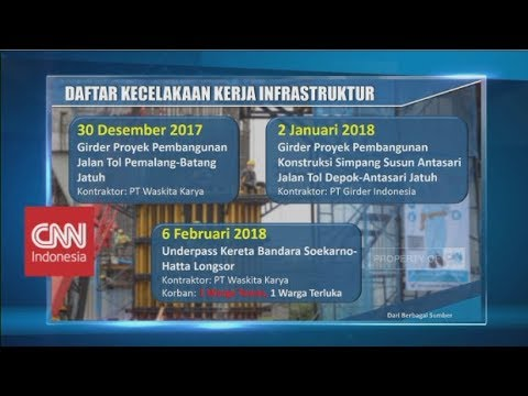 Daftar Kecelakaan Kerja Infrastruktur di Era Presiden Jokowi Mp3