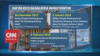 Daftar Kecelakaan Kerja Infrastruktur di Era Presiden Jokowi
