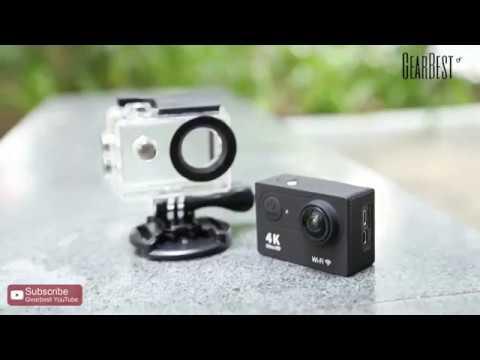 a293353421 Action Cam Wifi Câmera Capacete Esporte Mergulho Hd 1080p 4k - YouTube