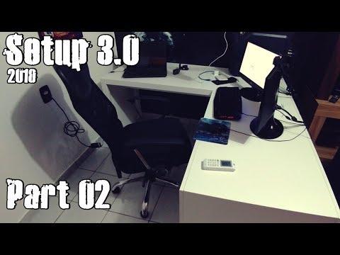 Setup 3.0 (2018) - Part 02 Nova Mesa Tipo L (Escritório Angular)