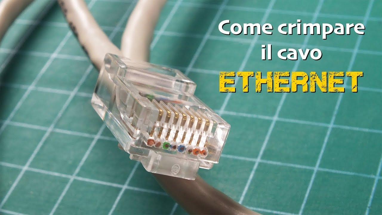Come crimpare un cavo ethernet - WordSmart.it