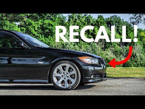 THE LATEST BMW RECALL!!