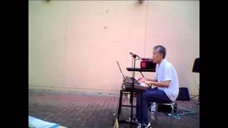2011年8月14日イトーヨーカドー厚木店店頭スペースでのライブイベントで...