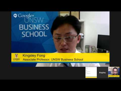 Master of Financial Planning - Google Hangout