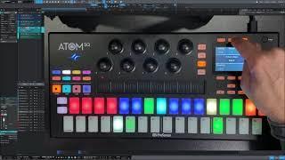 Novedades ATOM SQ en Studio One 5.2 (en Español)