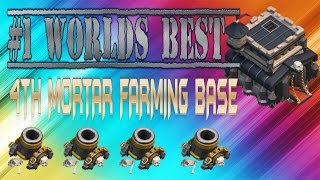 CLASH OF CLANS - WORLDS BEST TOWN HALL 9 FARMING BASE! \