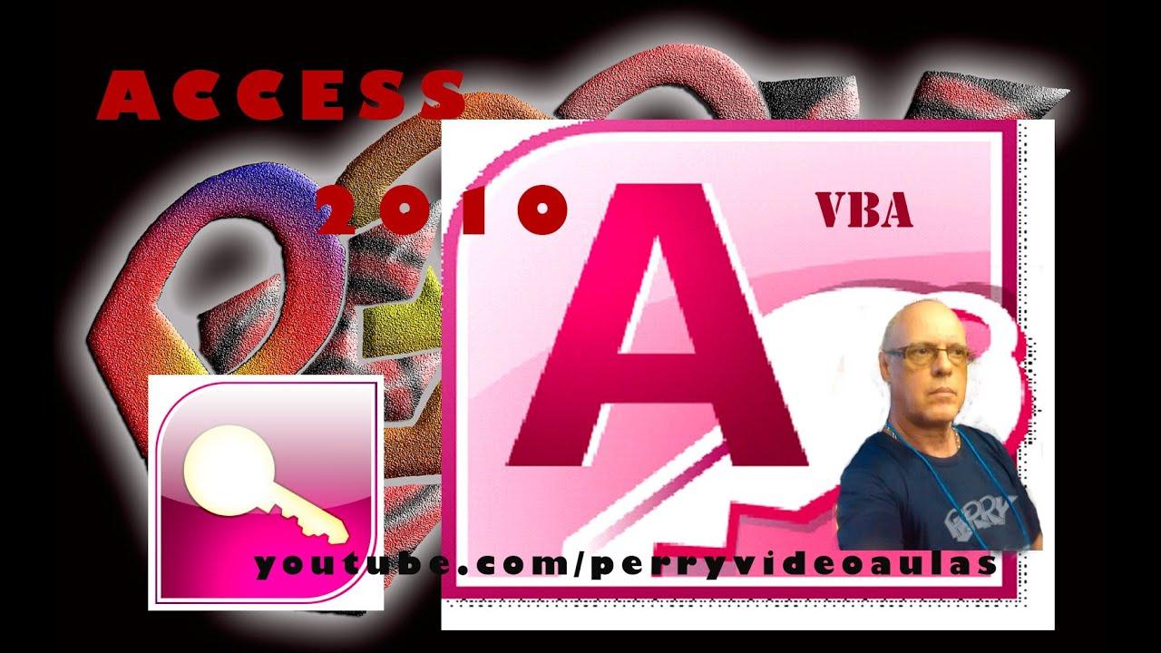 Usando KeyCode em todo o Formulário - Tutorial 16 - Access 2010 com VBA