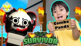 RYAN AND COMBO HAVE TO SURVIVE ROBLOX ! Let's Play Roblox Survivor