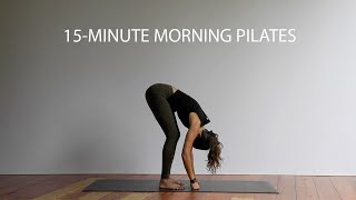 Quick Morning Pilates Routine | 15 Minutes | Morning Pilates Workout | Morning Pilates Stretch