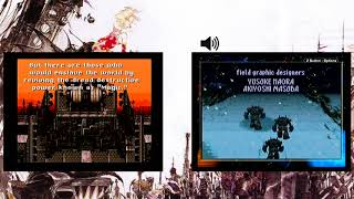 Final Fantasy VI version comparison - SNES/PS1/GBA