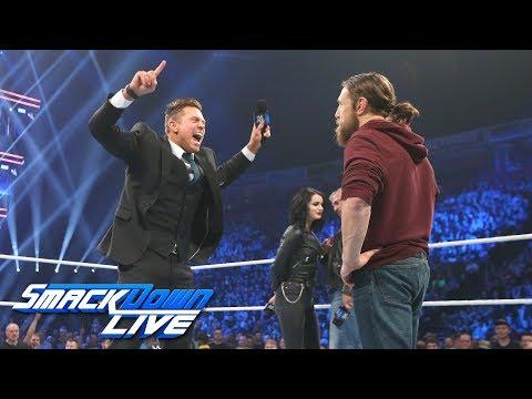 Daniel Bryan and The Miz are named Survivor Series co-captains: SmackDown LIVE, Nov. 6, 2018