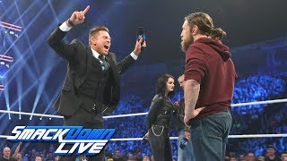 Daniel Bryan and The Miz are named Survivor Series co-captains: SmackDown LIVE, Nov. 6, 2018