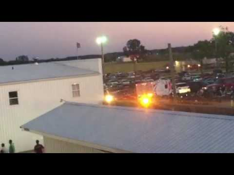 SYCAMORE SPEEDWAY ON FIRE