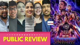 Avengers Endgame Movie PUBLIC REVIEW | First Day First Show | Hollywood Superhero Movie 3D | India