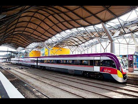 Drivers View: Southern Cross Railway Station To Waurn Ponds Railway Station