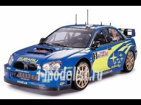 """Обзор модели автомобиля """"Subaru Impreza Wrc Monte Carlo '05"""" фирмы """"Tamiya"""" в 1/24 масштабе."""