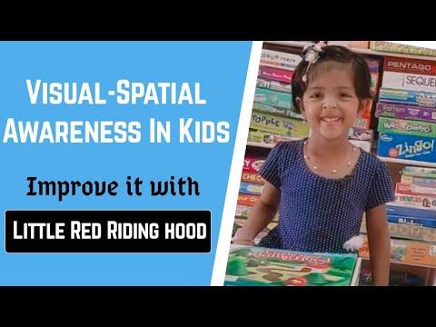LITTLE RED RIDING HOOD Game for building Visual-Spatial Insight കുട്ടികൾക്ക് പറ്റിയ ഒരു super game