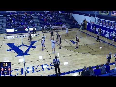Antwerp vs. Botkins High School Varsity Mens' Basketball