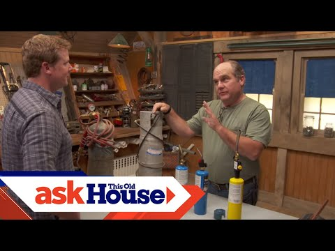 How to Choose and Use a Blowtorch   Ask This Old House