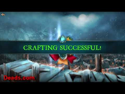 Dungeon Hunter 5 Crafting Holiday Chime Boon And Opening Holiday Presents 12/3/2017. By Ettin Deads