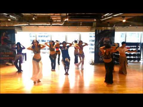 MASTER JEET CALIFORNIA CENTRE BELLY DANCE 1ST PART