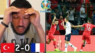 TURKEY VS FRANCE REACTION | Cengiz Ünder Leads In 2-0 UPSET OVER FRANCE (Euro 2020 Qualifiers)
