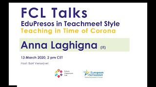 An experience of remote learning at the times corona virus w/ anna laghigna | fcltalks_13march