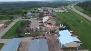 Lake Geneva Tornado - Arial Drone Footage