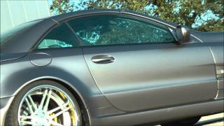 Mercedes SL r230 PD-Series Widebody - conversion from 2002 to 2010 AMG63 Widebody