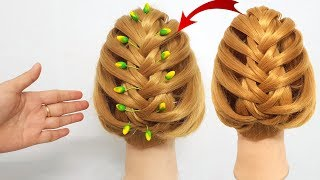 Romantic hairstyle 🌲 Latest Hairstyle For Parties 🌹 Hairstyles for girls 🌲 Hairstyle 2018