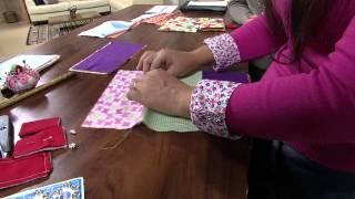 Ana Paula Faria – Carteira de tecido Parte 1/2