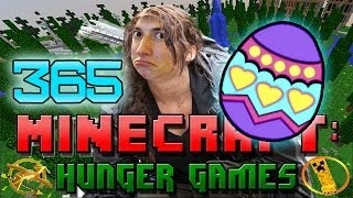 Minecraft: Hunger Games w/Mitch! Game 365 - How To Find Secret Easter Eggs!