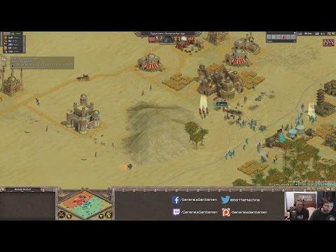 Rise of Nations: Redbul(Egyptians) vs John Stark(Chinese)