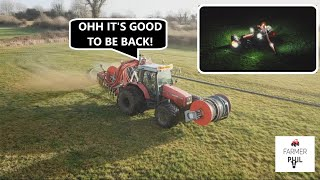 SLURRY SEASON HAS OPENED!!! TIME TO GO ON TOUR -- PIPING SLURRY/UMBILICAL SPREADING