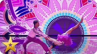 Dancing duo Bad Salsa send us into a spin! | BGT: The Champions