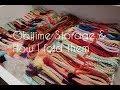 Chayatsuji Kimono   Obijime Storage & How to fold them