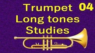 Trumpet Long tone Studies 004 - Intervallic Long Tones