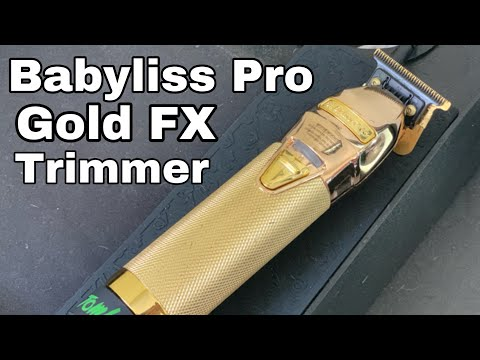 Babyliss Pro Gold FX - Babyliss Trimmer Review