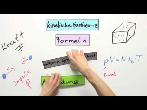 Kinetische Gastheorie: Anwendung mittlerer Geschwindigkeit | Physik ...