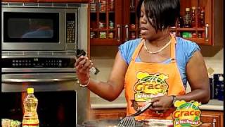 Elva's Pasta with Shrimp & Vegetables - Grace Foods Creative Cooking