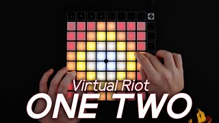 Virtual Riot - ONE TWO // Launchpad X Performance (4K)