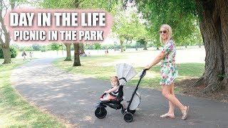 DAY IN THE LIFE | PICNIC IN THE PARK | Sarah-Jayne Fragola