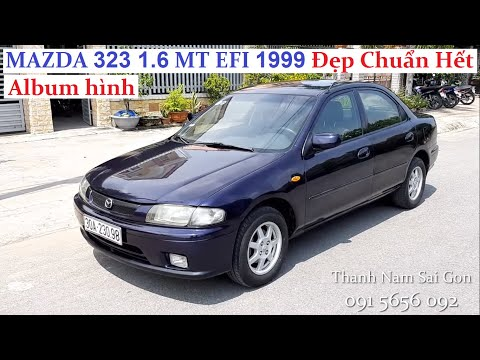 Đã bán - MAZDA 323 1.6 MT EFI TURBO 1999 - 119 triệu - Zin nguyên bản, không lai tạp, tiết kiệm xăng