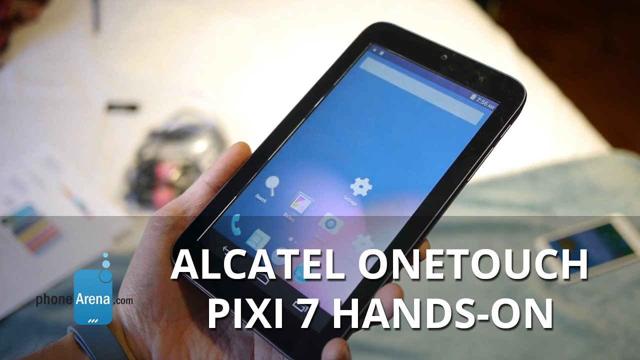 Alcatel OneTouch Pixi 7 Review