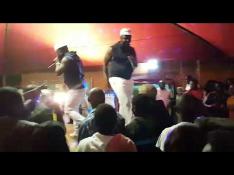 Dj Janisto & CK the DJ (The Double Trouble) perfoming at Tembisa (September 2016)
