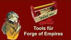 FoETipps: Tools für Forge of Empires (deutsch)