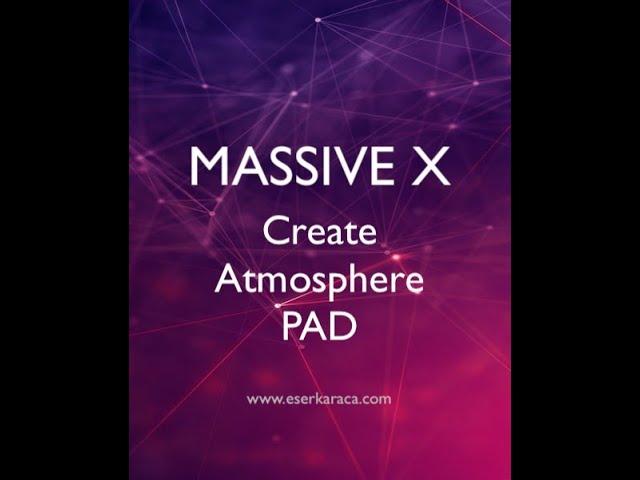 MASSIVE X - Ses Tasarımı 1. Bölüm